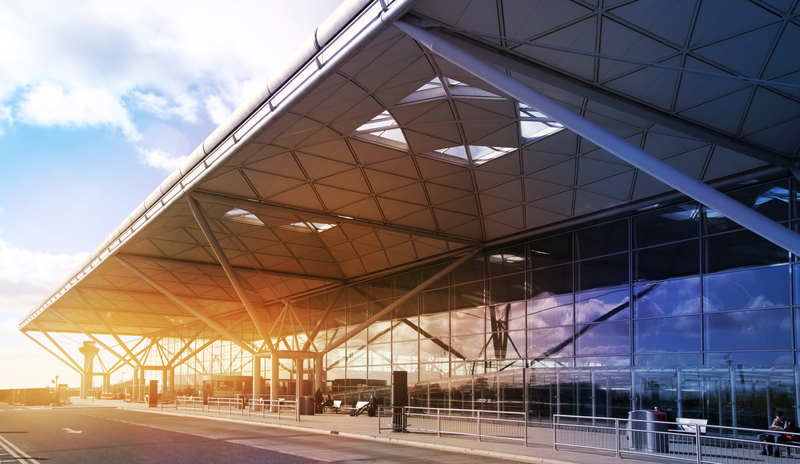 London Stansted Airport is one of the six international airports serving London.